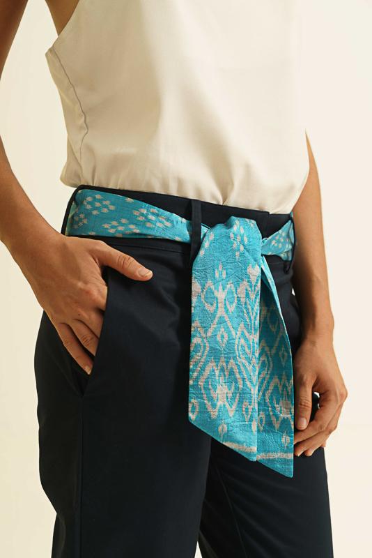 Muudana Eshop Pantalon Garuda Femme Bleu