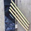 Kit de pailles en bambou zéro déchet