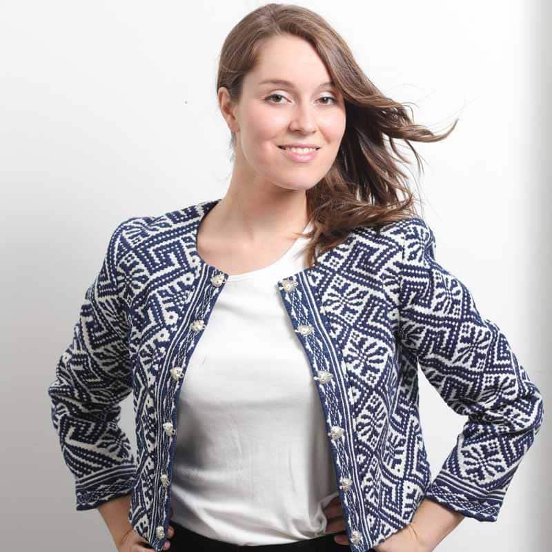 49d6b643d8ebb mode ethique femme veste ethnique coton bio broderie teinture naturelle  indigo foncé