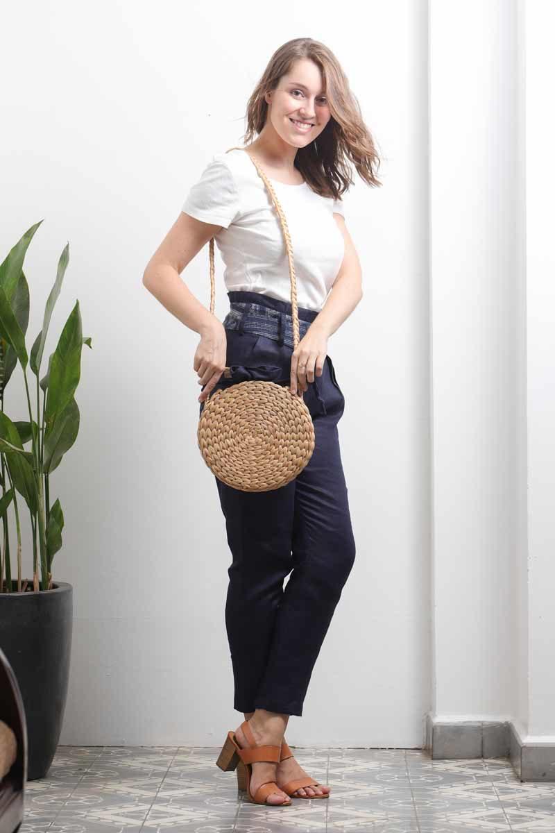 eco fashion femme accessoire sac biodegradable naturel lin equitable
