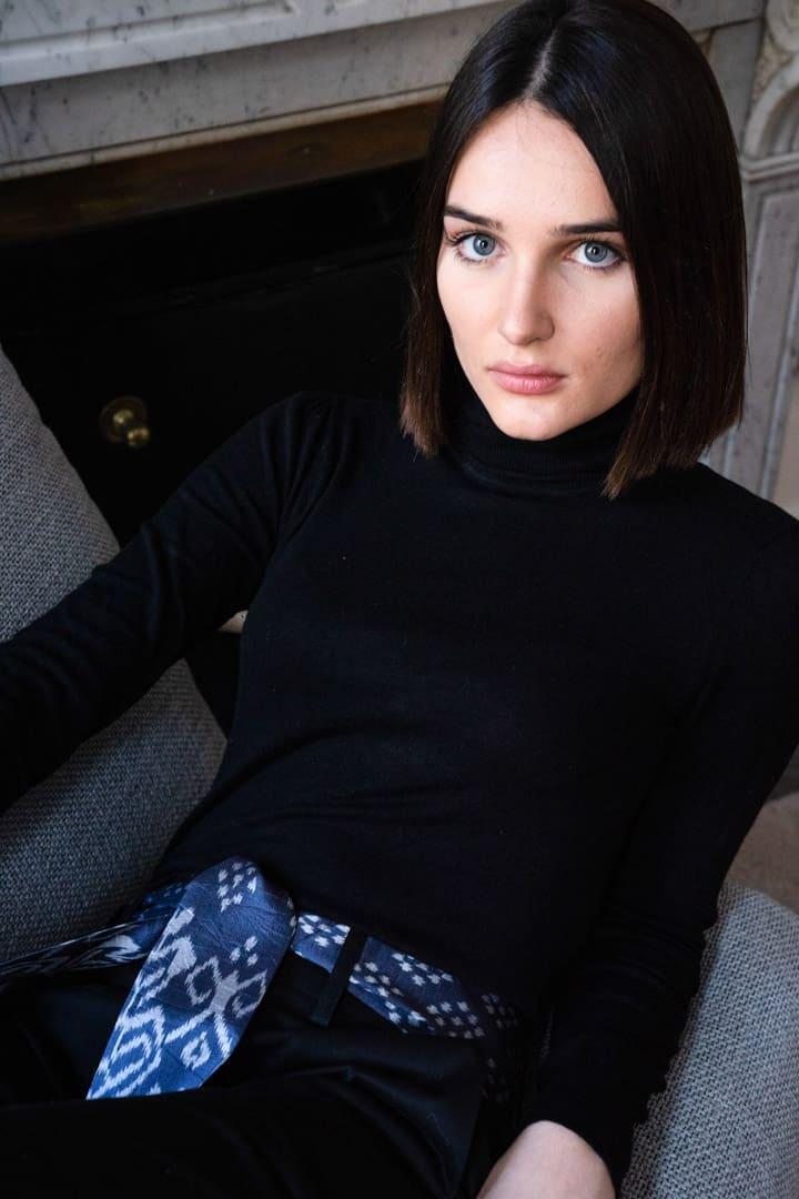 Pantalon éthique femme