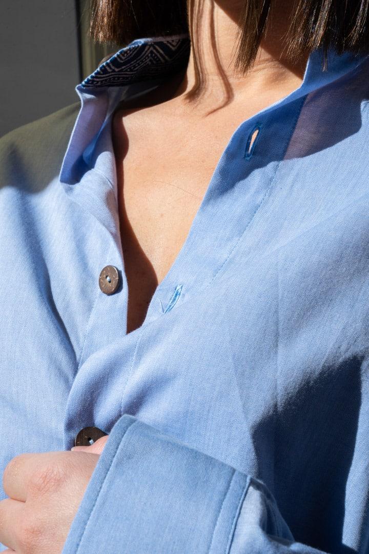 Détail chemise mixte